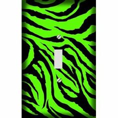 zebra thing, zebra light, bedroom decor, zebra skin, thing zebra, lime green, skin print, prints, zebra print