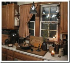 Raymond Homestead prim kitchen