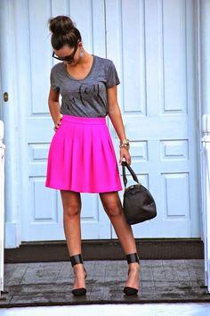 #WIFEY.  Wifey Tee: ILY Couture. Skirt: J. Crew