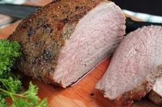 A Perfect Eye of Round Roast Beef