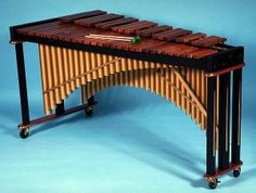 The marimba is a popular instrument in the Afro-Latin tradition.