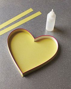 Valentine Candy Boxes How-To