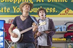 Woody Harrelson and Jesse Eisenberg in Zombieland