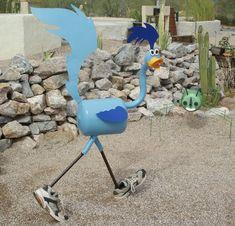 Welded Art,Yard Art,Garden Junk,Garden Art,Garden Sculpture,Whimsical Art,Found Art,Recycled Art