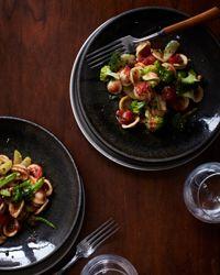 Orecchiette with Broccoli and Tomatoes Recipe
