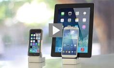 EverDock: iPhone 5S, 5C, 5, 4 Dock, iPad, iPad Mini Dock.