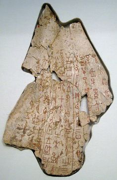 The Shang made many contributions to Chinese civilization, but one in particular define the dynasty: the invention of writing. The oracle bone inscriptions are the oldest known form of Chinese writing. By comparing and equating the inscriptions to modern Chinese characters, scholars have shown that the Shang had already developed all the principles of the modern writing system used today. In fact, Chinese writing has undergone relatively few changes since it was first developed 3,500 years ago.