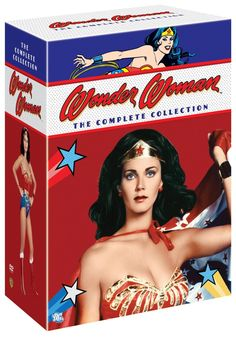 Amazon.com: Wonder Woman: The Complete Collection: Lynda Carter, Lyle Waggoner: Movies & TV