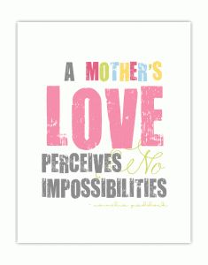 mother's day love quote