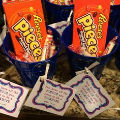 """Team gift- add Skor bar """"you have all the pieces to Skor big"""""""