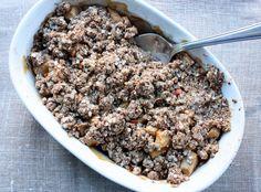 Easy Gluten Free Vegan Quinoa Apple Crumble. ☀CQ #glutenfree