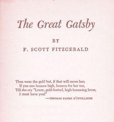 classic #GreatGatsby