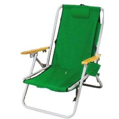 WearEver Hi-Back Deluxe Steel Backpack Chair -- of course i want green! (:
