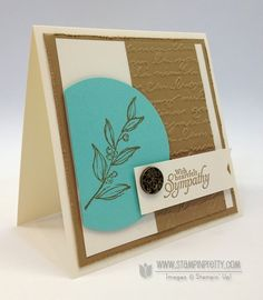 Stampin up stampinup pretty order mary fish simply sketched mojo monday card sympathy ideas