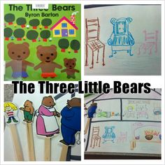 Goldilocks and the Three Bears--story activities and extensions