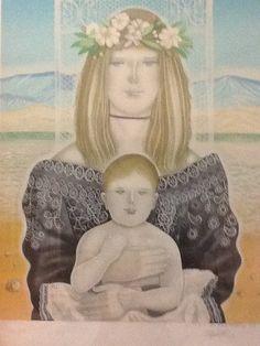 La virgen de Mochima así la nombro el Autor Virgilio Trompiz en 1993
