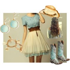 Cowgirl Couture, created by aquachick on Polyvore (Sierra Day-Wallace)