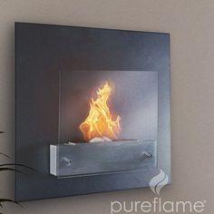 Pureflame Serafin Ethanol Biofuel Fireplace:Amazon:Patio, Lawn & Garden