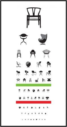 Snellen Eye Chart Reinvented for Designers