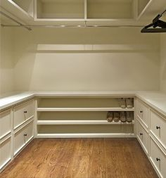 This will be my closet! If I have the time and energy! :)