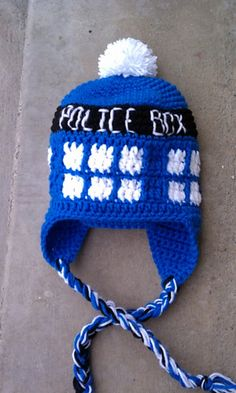 Happy 50th Anniversary Dr. Who! Crochet pattern available from Snappy Tots