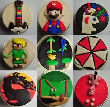 Cupcakes nintendo, cupcakes, gamer girls, fans, game cupcak, video games, mario bros, baking, game cake