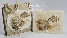 By The Tide Stationery Box