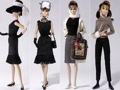 Audrey Hepburn (+ dolls)