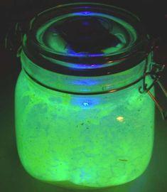 uv led, idea, craft, sun jar, led sun, creepi sun, garden, jars