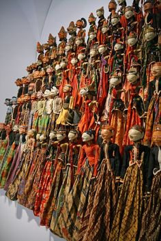 Indonesian Traditional Puppets - Wayang Golek | #Indonesia - #SouthEast #Asia