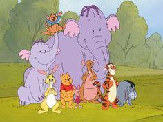 lumpy roo mama heffalump rabbit winnie the pooh piglet kanga tigger & eeyore  from pooh's heffalump movie