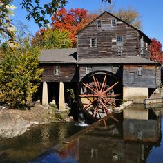 The Old Mill - Great food!