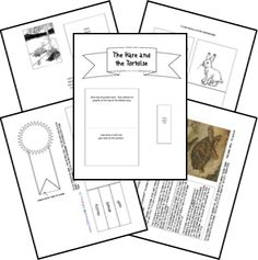 FREE Aesop's Fables Lapbook!