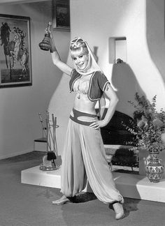 Barbara Eden as Jeannie in'I Dream of Jeannie',1965.