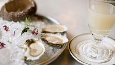 """Blanche absinthes are great with East Coast oysters, complementing their more briny and salty notes, while verte absinthes work nicely with West Coast oysters, highlighting their sweet flavor and creamy texture."""