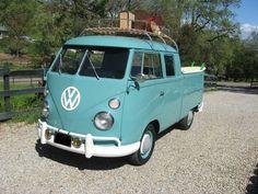 1962 Volkswagen Type 2 Double Cab Truck <3