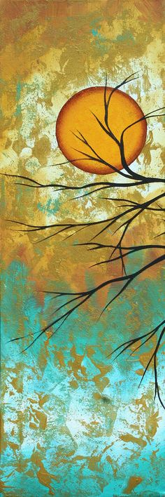 quilt, tree, acryl megan, art prints, megan duncanson, inspir idea, fascin megan, golden fascin
