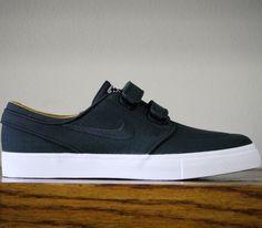 Nike SB Stefan Janoski Velcro – Black / White