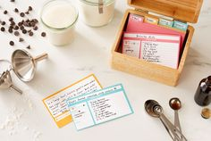 Recipe Cards - 50 Co