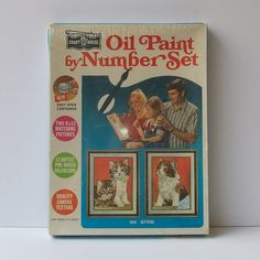 Paint By Number Set***