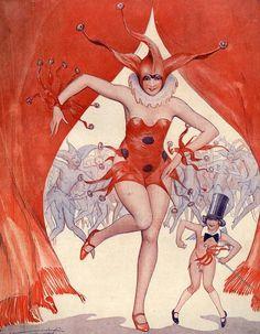 Illustration by Vald' Es  For la Vie Parisienne 1920s