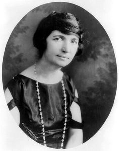 Margaret Sanger, who was jailed for educating women about birth control.