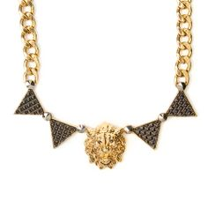 Make a statement and roar with this Katy Perry lion head necklace! #KatyPerryPRISMCollection