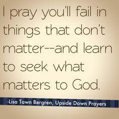Book club for Lisa Tawn Bergren's Upside-Down Prayers for Parents. Facebook.com/ohamandablog