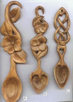 Spoon Carvings