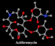 Azithromycin (Zithromax) Molecule