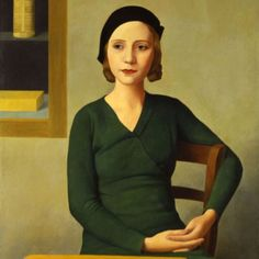 Antonio Donghi (1897-1963), Woman at the Café, 1932 oil on canvas