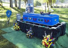 Funeral Home Facilitates Incredible Lego Casket for 10 Year Old Boy