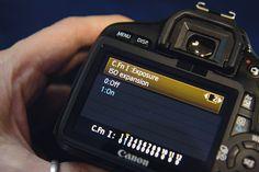 Canon DSLR menu settings: ISO Expansion