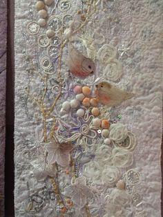 subtl colour, crazi quilt
